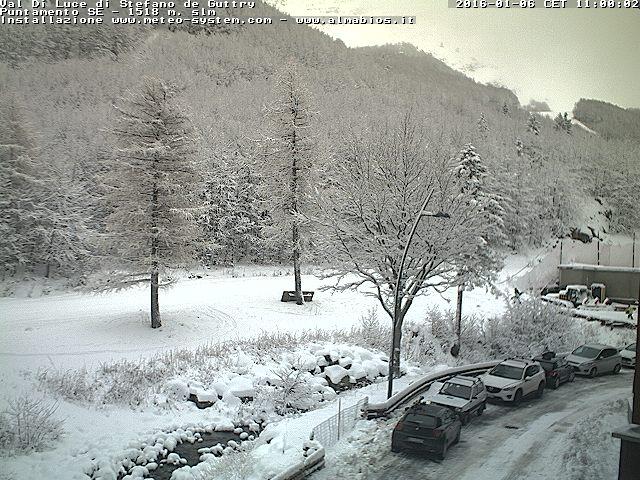 Neve in Appennino, finalmente è arrivata copiosa