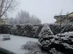 Maltempo al Nord, la neve imbianca Padova