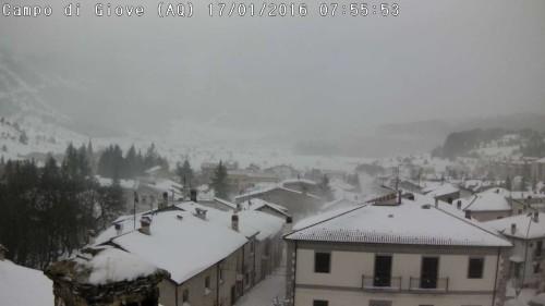 Maltempo Italia, la neve imbianca le regioni adriatiche