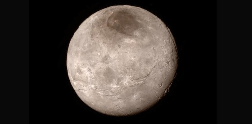 Caronte: fotografato il lato oscuro dalla sonda Nasa