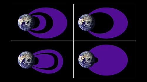 NASA, rivelata la vera forma delle fasce di Van Allen