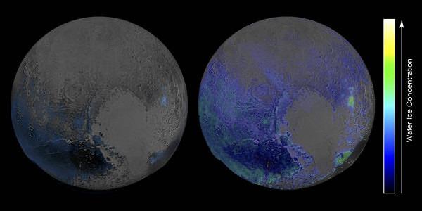 Plutone è ricchissimo di ghiaccio d'acqua, le immagini della Nasa