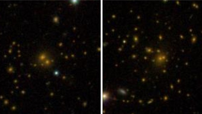 Astronomia, la materia oscura influenza la struttura di una galassia