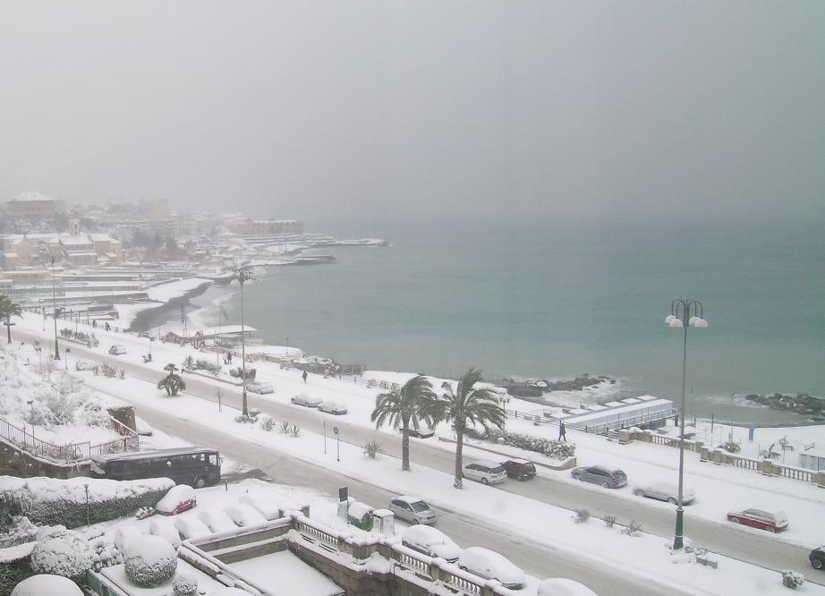Martedì 19 Gennaio, rischio neve su Napoli e Roma