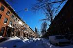 New York spettacolo, dopo la neve torna il sole