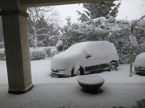 Neve a Campobasso, raggiunti i 15-20 cm di accumulo