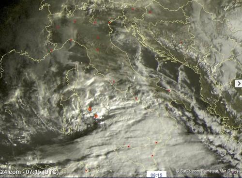 Meteo live: maltempo verso il Sud Italia, gelo al Nord