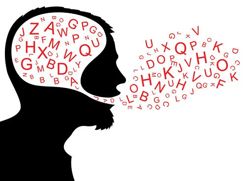 Scrivere e assemblare una parola, tutto in un'area del cervello
