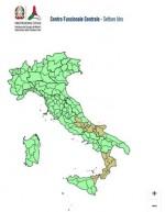 Allerta meteo Protezione Civile: residue piogge al Centro-Sud