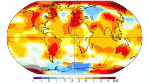 Clima, la NASA rivela: gennaio 2016 il più caldo di sempre