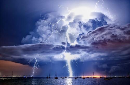 Meteo Italia, forte maltempo oggi al Sud