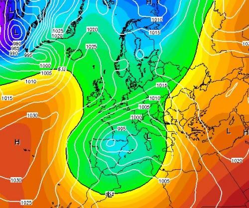 Meteo Italia: torna il maltempo intenso, poi farà freddo