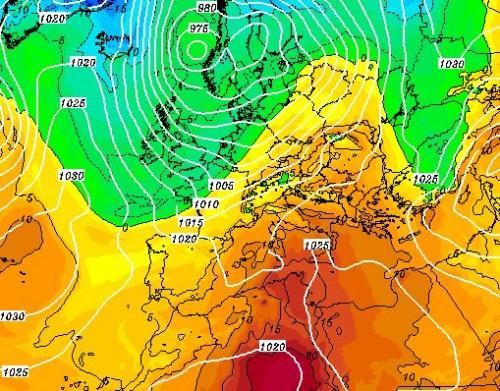 Meteo Italia: prima il caldo, poi assalto artico