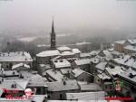 Neve a bassa quota al Nord, si imbianca Cuneo