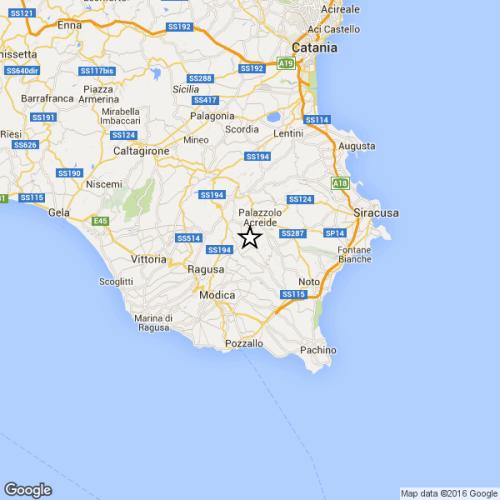 Terremoto oggi 8 febbraio in Sicilia M. 4.6 Richter, i dettagli