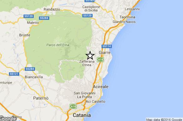 Terremoto oggi Sicilia: scossa avvertita dalla popolazione