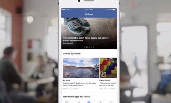 Facebook news 2016 aggiornamenti e update: nuova sezione dedicata ai video