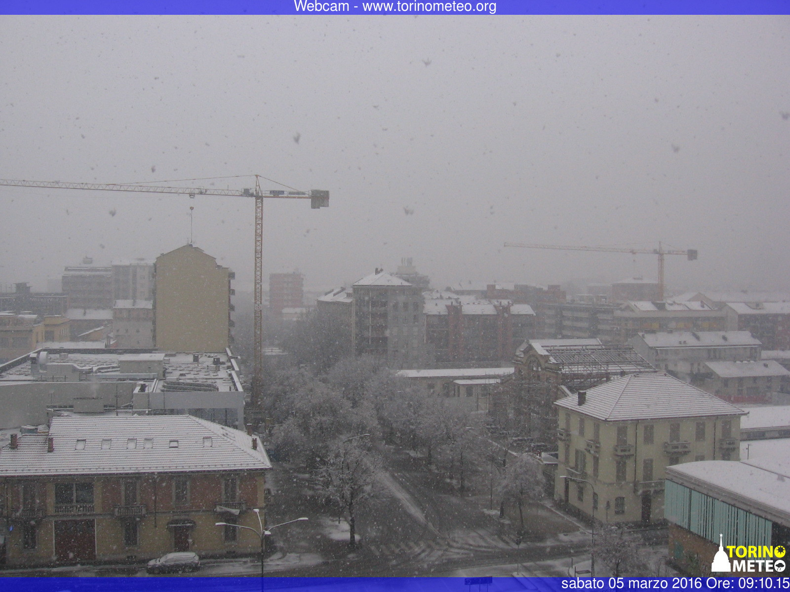 Meteo Italia, arriva la neve in pianura sul Piemonte