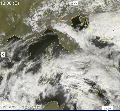 Caldo al Centro Sud, sfiorati i 30°C in Sicilia, ma la pressione è in crollo
