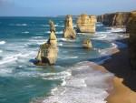Australia, scoperte cinque colonne in calcare al largo della costa
