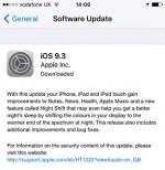 Aggiornamento Apple iOS 9.3, molti problemi con il nuovo software