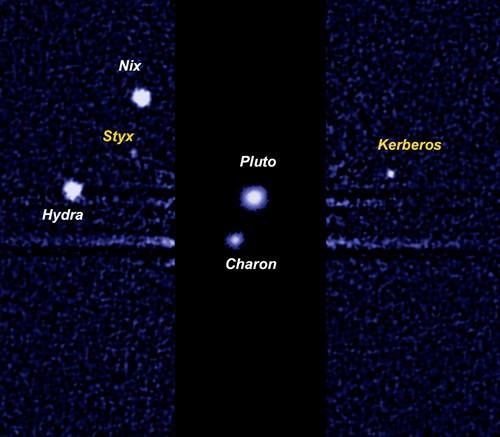 Plutone, scoperta l'origine delle cinque lune