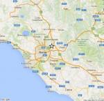 Terremoto Lazio, scossa M 2.5 tra Roma e Guidonia, avvertita dalla popolazione