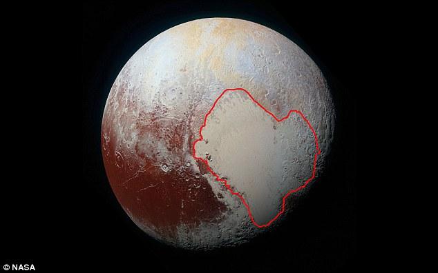 Plutone: l'azoto congelato ha cambiato l'orientamento del Pianeta