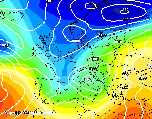 Maltempo Italia, da giovedì tornano piogge, freddo, neve e temporali