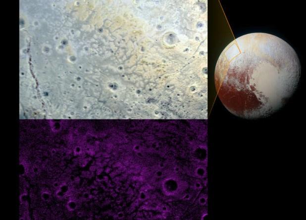 Plutone: le incredibili caratteristiche del terreno 'frastagliato'