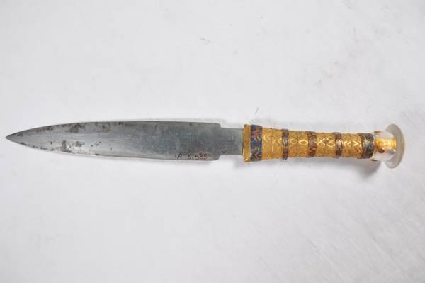 Antico Egitto: il pugnale di Tutankhamon ricavato da un meteorite