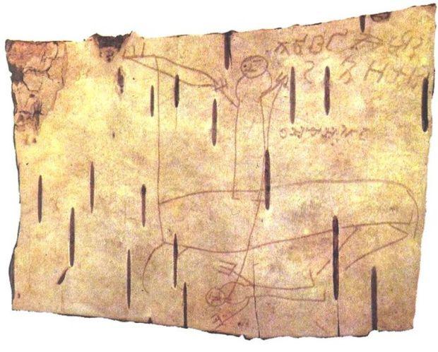 Archeologia: l'immaginazione di un bambino medievale in alcuni graffiti
