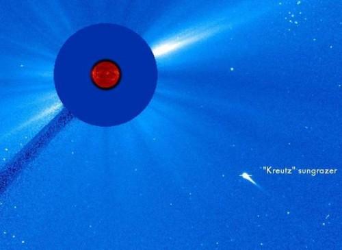 Cometa disintegrata dal Sole: l'incredibile avvistamento