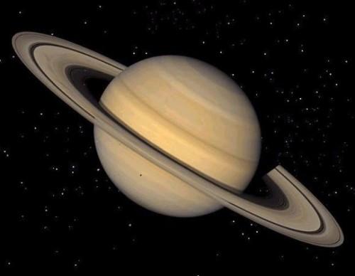 Saturno: l'immagine dell'atmosfera ripresa 'da vicino'