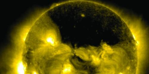 Buco coronale sul Sole: prevista tempesta geomagnetica