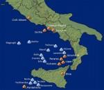 Tirreno: ecco i pericolosi vulcani sottomarini