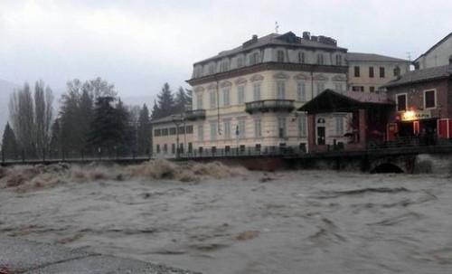 Alluvione Liguria: situazione grave in Valbormida, segnalati allagamenti e frane anche in Piemonte