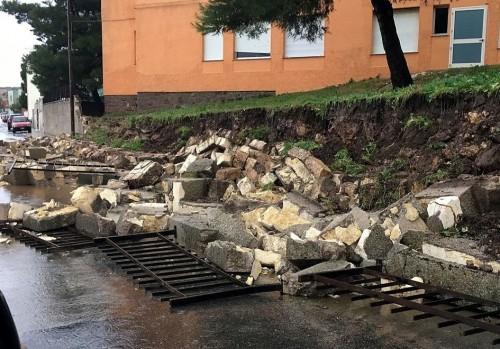 Maltempo: crolli e allagamenti, situazione critica nel sassarese