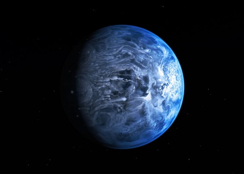 Nuove scoperte sul pianeta blu HD 189733 Ab: piove vetro