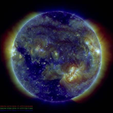 Sole, un canyon di fuoco scaglia particelle verso la Terra