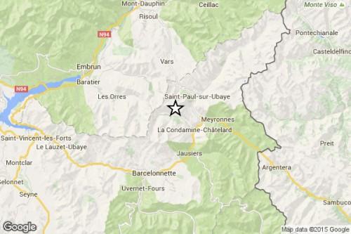Terremoto: scosse nella Francia meridionale e a Genova