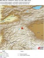Terremoto Cina-Tajikistan-Kyrgyzstan: fortissima scossa di magnitudo 6.5 Richter
