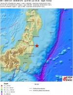 Tsunami dopo violento terremoto: è allerta in Giappone, magnitudo 7.3 Richter davanti Fukushima