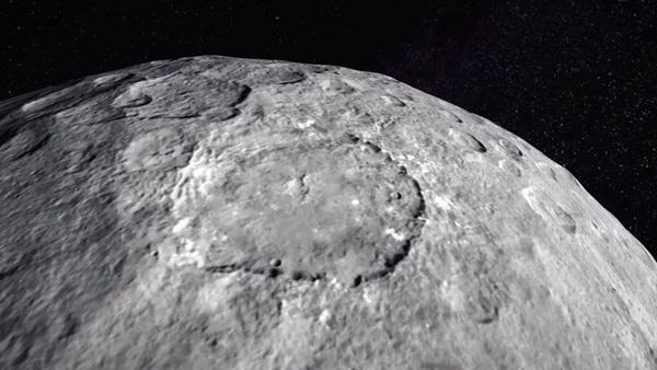 Cerere è ricca di acqua: la scoperta della sonda Dawn