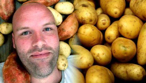 Mangia per un anno solo patate, le conseguenze per il corpo