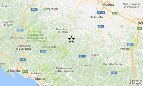 Terremoto: forte scossa a Reggio Emilia, avvertita anche a Firenze