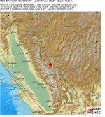 Terremoto Nevada, USA: sciame sismico con scosse molto forti