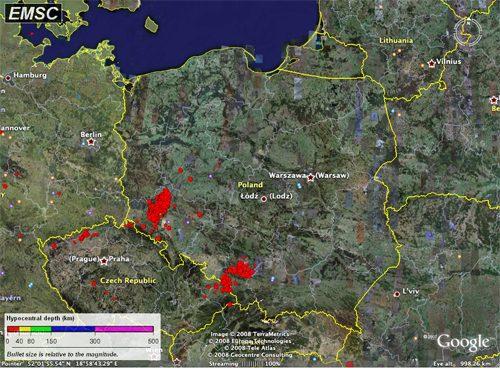 Polonia: continuano le scosse di terremoto, paura tra la popolazione