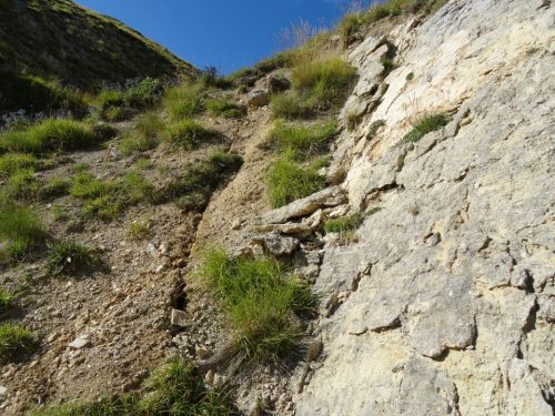 Frana sul Monte Vettore: roccia precipita su Montegallo