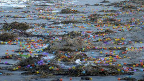 Germania: si rovescia container, spiaggia invasa da ovetti Kinder